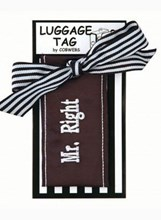 LUGGAGE TAG - MR RIGHT