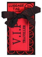 LUGGAGE TAG - V.I.P TRAVELLER