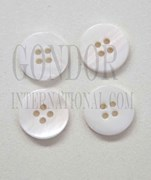 1pc Fresh Water Pearl button 4H 24Lx2mm