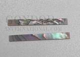 1pc Red abalone strips straight 4.76x25x1.3mm