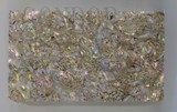 1pc Red abalone heart veneer 140x240x0.15mm