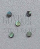 1pc Paua dots 3.17x1.3mm