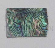 1pc Paua blanks 25x35x1mm