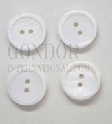 1pc Fresh Water Pearl button 2H 18Lx1.8mm