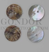 1pc Agoya buttons N 2H 20L