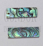 1pc Paua Blanks 15x35x1mm