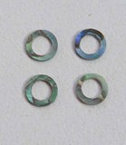 1pc Paua rings 6mm D x 4mm H x 1.5mm