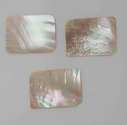 1pc Australian Greenlip abalone cabochons rectangle 30x40x1.7mm