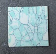 1pc Tunisian marble CH2C4 reconstituted stone 50x50x1.5mm