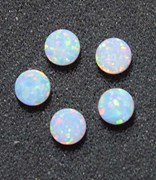 1pc Opal dots OP17 6x1.3mm