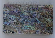 1pc Paua laminated sheets B 135x235x1.5mm