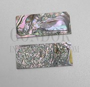 1pc Red abalone blanks heart B 30x70x2.5mm