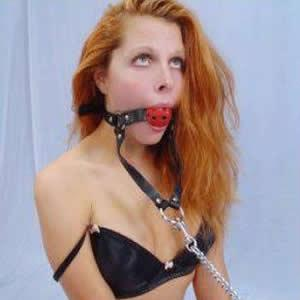 Holed harness body bondage and anal for alex harper 5