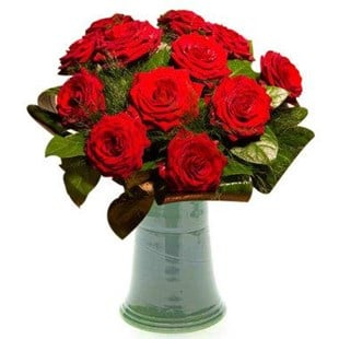 Red Roses By The Dozen