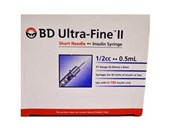 BD Ultrafine II Syringe 0.5ml 31G 8mm