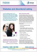 Diabetes and disordered eating (NFS1643)