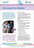 Peer support for diabetes (NFS1637)