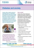 Diabetes and anxiety (NFS1641)