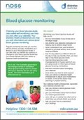Blood glucose monitoring (NFS1603)