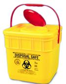 IDC 12.5L Sharps Container Square