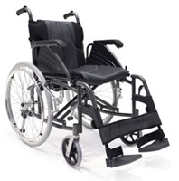 Wheelchair lightweight folding AJM Care Quip 515 Concord