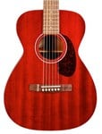 Guild M-120ECH Solid Mahogany  in Cherry Red