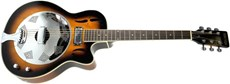 OAKRIDGE RESONATOR EL/AC GUITAR Tobacco Sunburst
