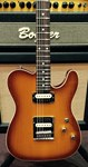 Schecter USA Custom Shop PT Golden Honey Burst in Hard Case