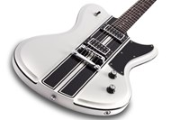 Schecter Special Edition Ultra GT Metallic White with Black Stripe