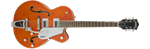 GRETSCH G5420T ELECTROMATIC - HOLLOW SINGLE-CUT BIGSBY - ORANGE STAIN