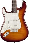 FENDER STD STRAT LEFT HAND PLUS TOP TOBACCO