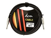 DCM 10ft Lead - Guitar/Bass w/velcro cable tie