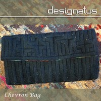 CHEVRON DESIGN BAG - Designatus Designs