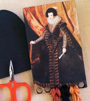 BLACK QUEEN THREAD KEEP - Kelmscott Designs