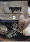 BROWN COW SAMPLER BAG - Stacy Nash Primitives
