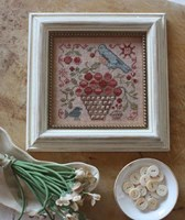 BASKET OF CHERRIES, Garden Club Series #1 - Blackbird Designs