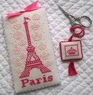 OOH LA LA SCISSORS KIT AND FOB - JBW DESIGNS by Judy Whitman