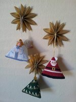 SANTA, ANGEL AND CHRISTMAS TREE KIT - Designatus Designs