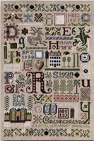 SOUVENIR SAMPLER- The Drawn Thread