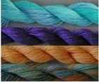 Gloriana Silk Luminescence hand dyed silk - 20yd skein