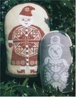 QUAKER SANTA AND THE SNOWMAN - The Workbasket