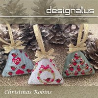 CHRISTMAS ROBINS - Designatus Designs