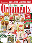 Just Cross Stitch Ornaments 2014