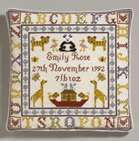 Alphabet Birth Tapestry - Historical Sampler Company