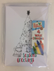Christmas Cards - 10 pack - with Crayons