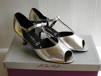 Sale Francesca T bar ballroom shoe Size 3 & 4.5, only