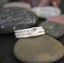 Bead ring feature stack