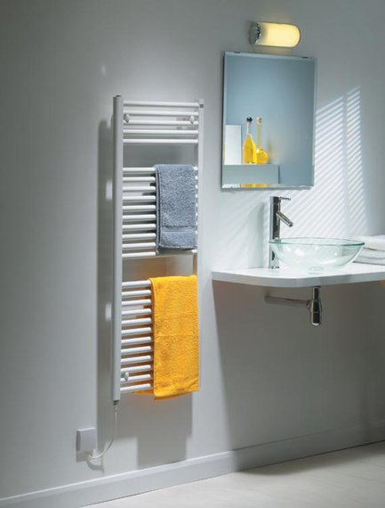 Caleido Electric Towel Rail In Chrome By The Radiator Company Cast