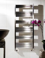 Zehnder Cove Stainless Steel COVE Towel Rail Bathroom Radiators for Wet Systems