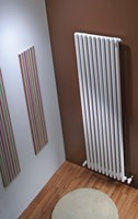 The Radiator Company TRC35 Horizontal Single Tubular Radiator in White